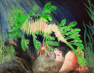 Oil on canvas by Robert Grenkowitz