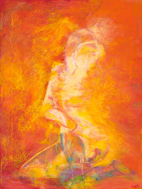"""Immersion in Yoga"" by Vasundhara Tolia"