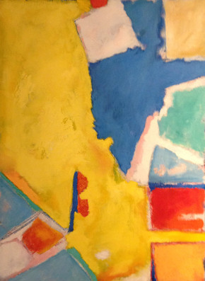 """""""Nonobjective Painting #6"""" by Donald Hoenig"""