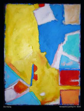 Nonobjective Painting #6