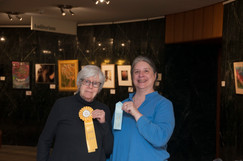 Janet Grant,  two Honorable Mentions in Works on Paper
