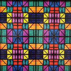 Detroit Stained Glass Mosaic