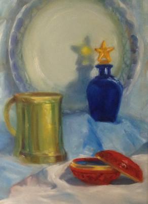 """""""Brass Mug"""" by Janet Kondziela"""