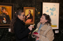 Art Talk. Guests of the event