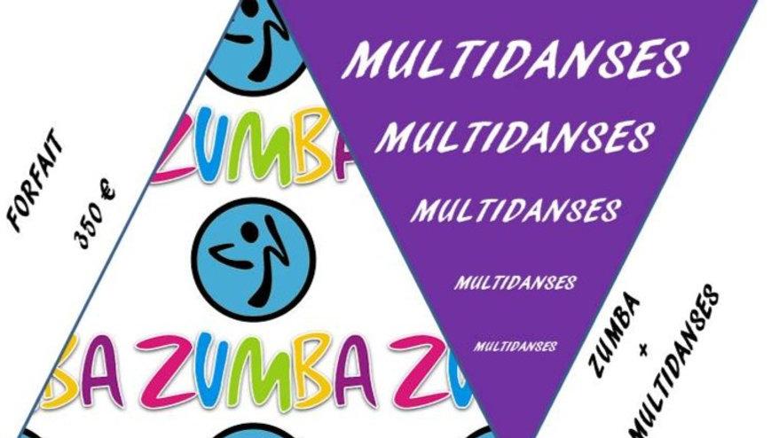 ZUMBA + MULTIDANSES
