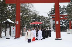 旭川 神社挙式 メゾンドピアジェ