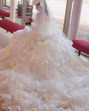 ホワイトインパクトドレス