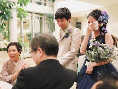 """感謝をつたえる""""結婚式"""