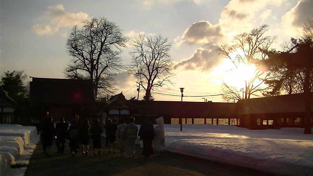 旭川護国神社挙式