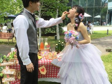 2人の結婚式