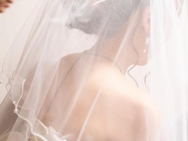 花嫁様のベール