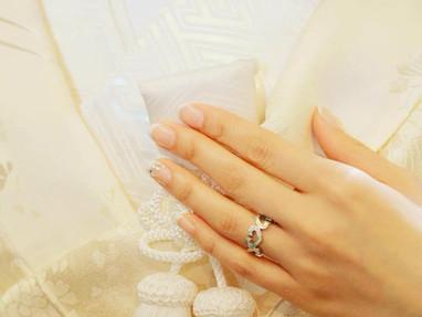 結婚式は白無垢で😌