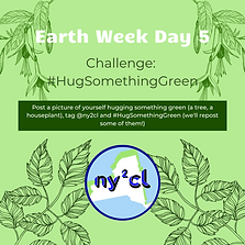 #HugSomethingGreen (Day 5).png