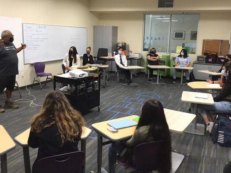 Day One: Meeting students and staff
