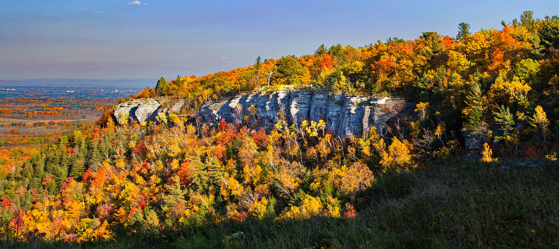 Autumn at the Escarpment