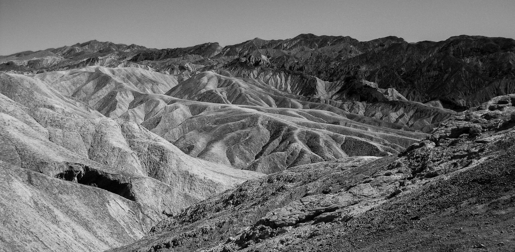 Death Valley bw