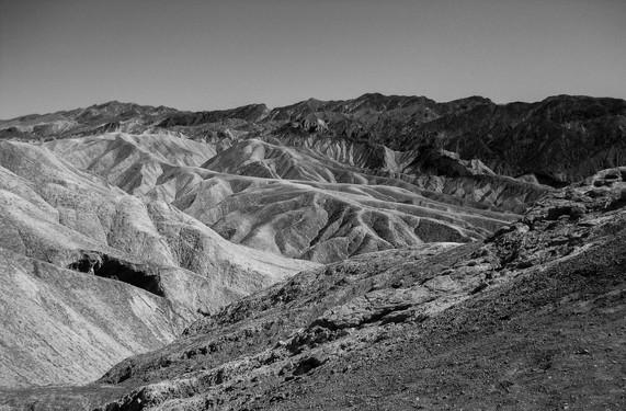 Death Valley bw