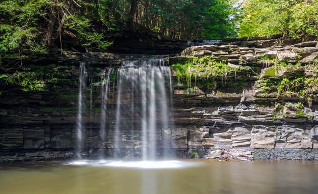 Waterfall Christman preserve