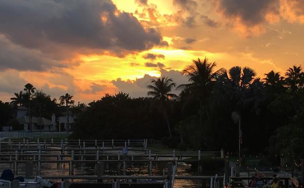 Lantana Sunset