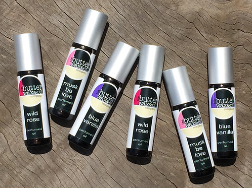 Perfumed Oils - 3 Exquisite Scents