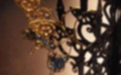 蝶 イヤーフック 歯車 真鍮 イヤーフック スチームパンク ガラス ビーズ シャビーシック ハンドメイドアクセサリー