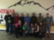 Kredit Electric bowling party in Bozeman Montana