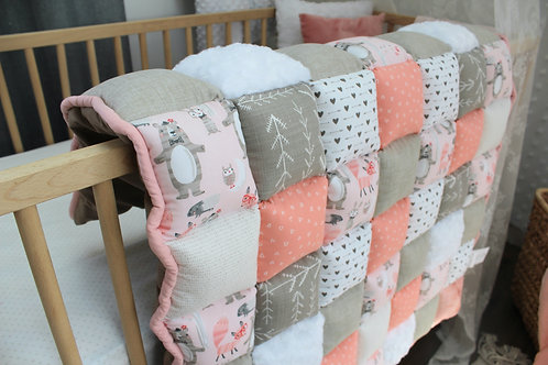 Mes petits animaux roses accent beige