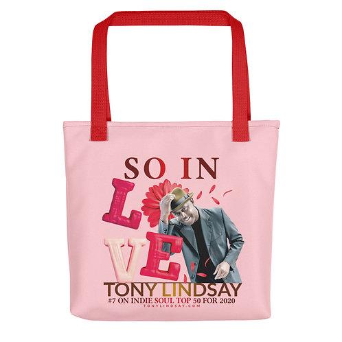 """Tote bag """"So In Love"""" Tony Lindsay"""