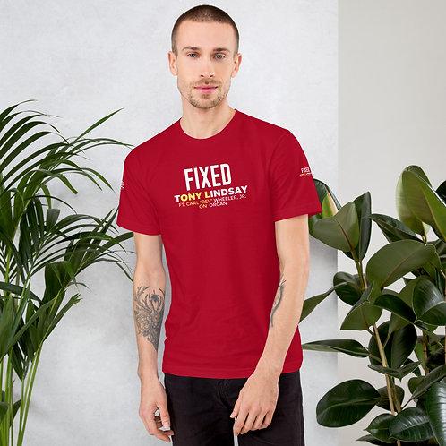 T-Shirt Fixed By Tony Lindsay - Logo