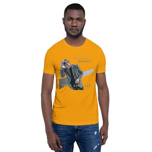 Men Short-Sleeve T-Shirt Something Beautiful - Tony Lindsay