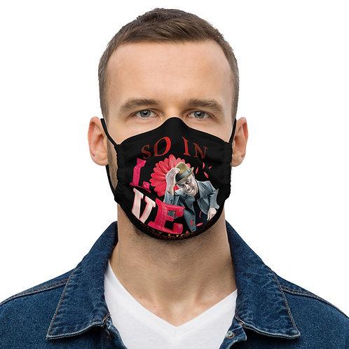 """Premium face mask """"So In Love"""" Tony Lindsay"""