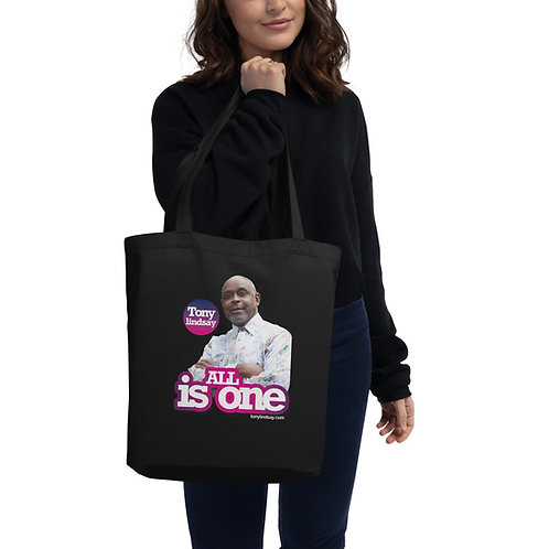 Eco Tote Bag 'All is one' Tony Lindsay