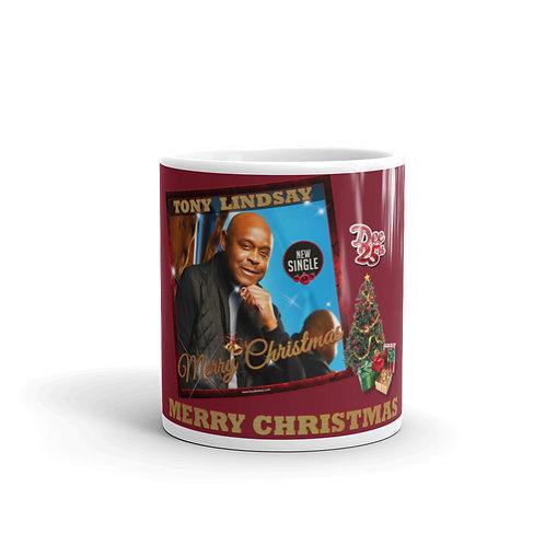 """Mug """"Dec 25 Merry Christmas"""" Single"""