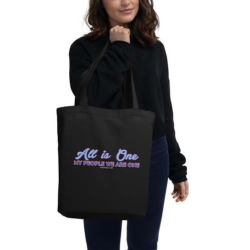 Eco Tote Bag  'All is one—My people we are one'