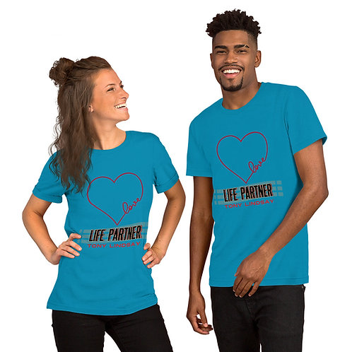 Short-Sleeve T-Shirt Life Partner Heart - Tony Lindsay