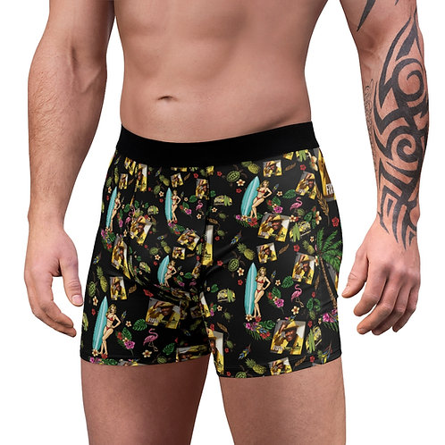 Men's Boxer Briefs Fixed By Tony Lindsay - Vintage Bus