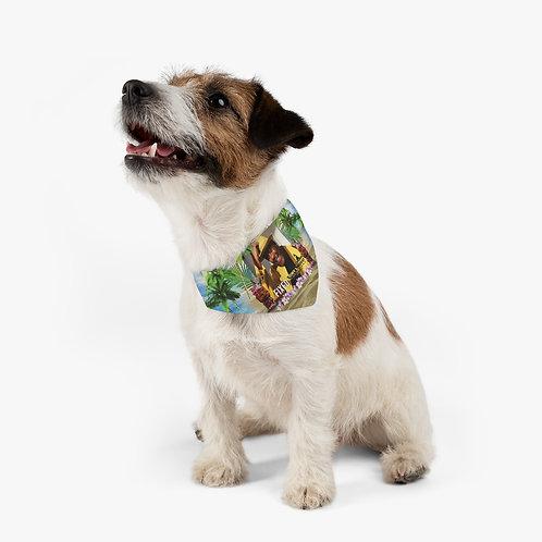 Pet Bandana Collar Fixed By Tony Lindsay - Luau