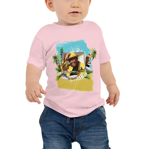 Baby Jersey Short Sleeve Tee Fixed By Tony Lindsay Tropical Drums
