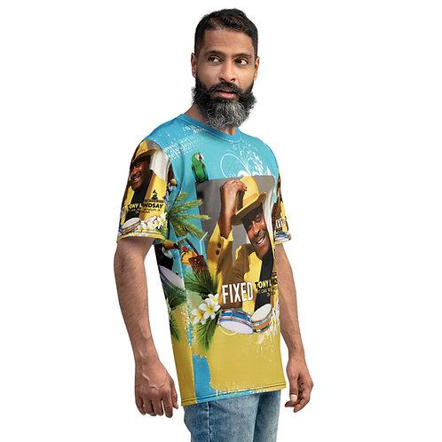 Men's T-shirt Fixed By Tony Lindsay - Luau