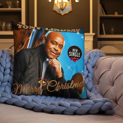 Premium Pillow Merry Christmas Single
