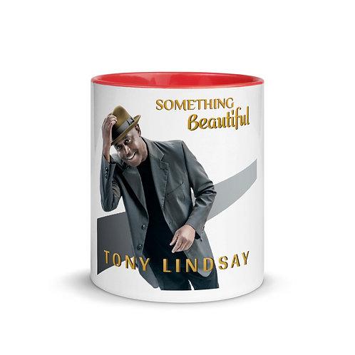 Mug with Color Inside Something Beautiful - Tony Lindsay