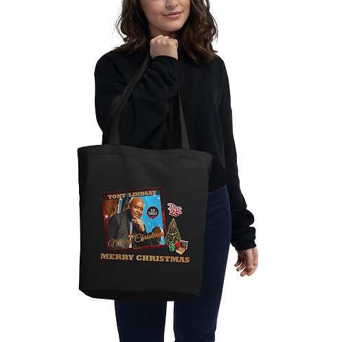 "Eco Tote Bag ""Dec 25 Merry Christmas"" Single"