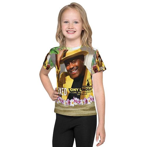 Kids crew neck t-shirt Fixed By Tony Lindsay - Luau