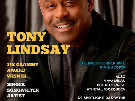 Tony Lindsay on Groov Magazine