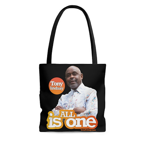 'All Is One Tony Lindsay' Sunburst Collection Tote Bag