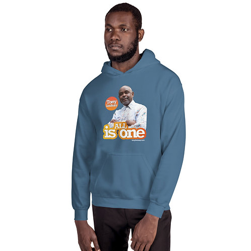 Men Hoodie  'All Is One' Tony Lindsay