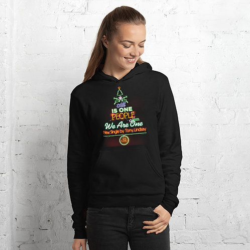 "Women Hoodie ""LIVE BAND. All Is One Christmas Tree"""