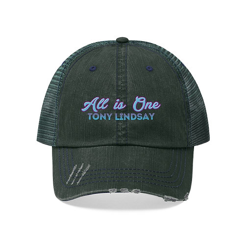'All Is One Tony Lindsay' Colorful Collection Unisex Trucker Hat