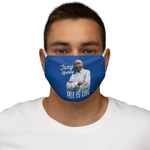 Snug-Fit Polyester Face Mask 'All Is One Tony Lindsay'