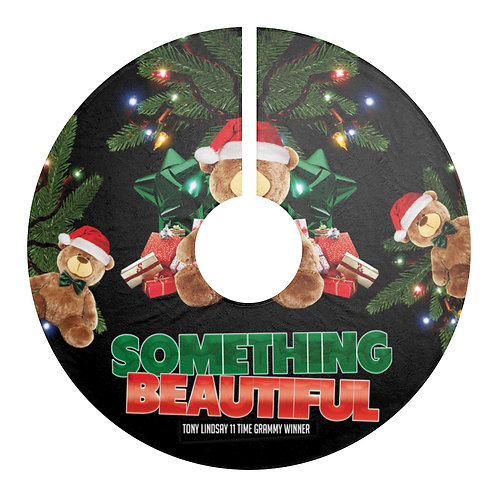Christmas Tree Skirts 'Something Beautiful' - Tony Lindsay